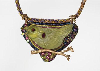Green Bird Talisman