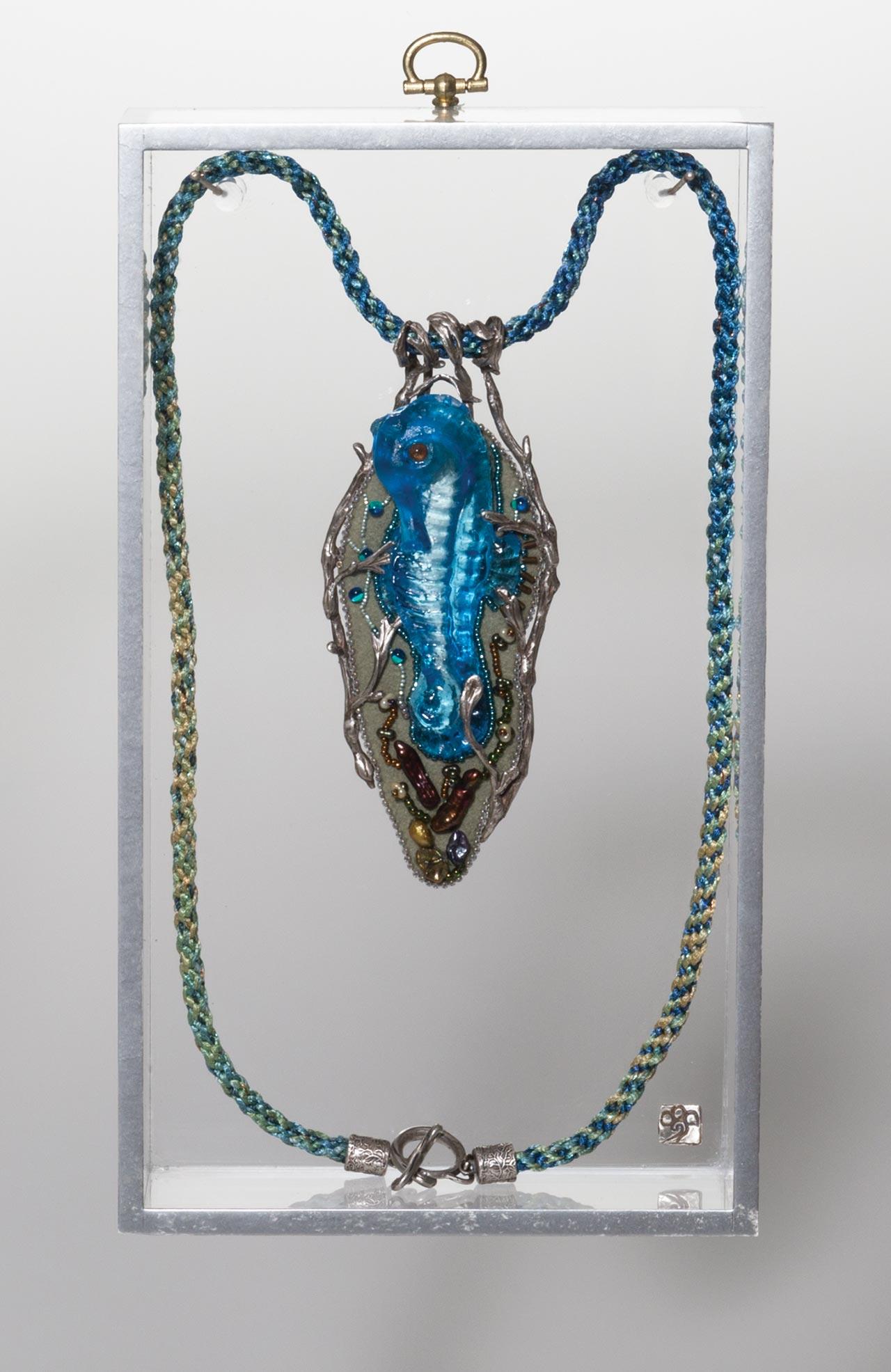 seahorse talisman in box